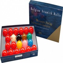 Ball Set Aramith Snooker Tournament Champion G1 Pro Cup 52,4mm - Aramith Tournament Champion Snooker