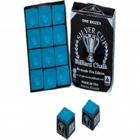Master Brown Chalk - 12pcs box - 12 pieces Silver Cup blue chalk box