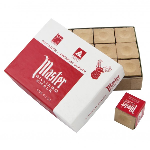 Master Brown Chalk - 12pcs box