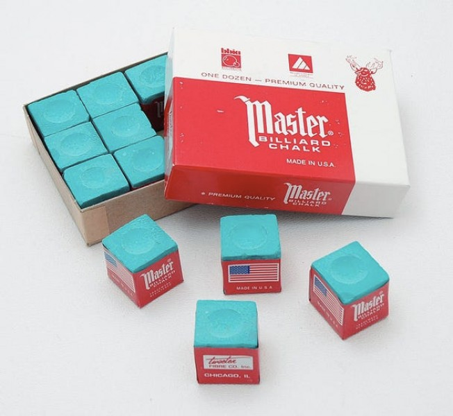 Master Green Chalk 12 pieces box