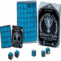 Pool cue Fury Stinger X-3 - Silver Cup 144 pcs blue chalk box