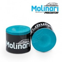 Molinari 2x4 Black-Grey cue case - Box of 6 Molinari Chalk pieces