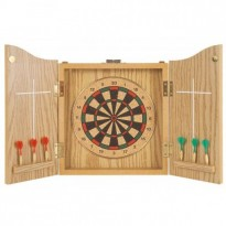 Catalogo di prodotti - Traditional Dartboard with wood cabinet