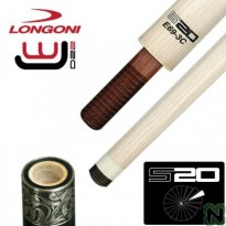 Longoni S30 E69 VP2 3 Cushion Carom Shaft - Longoni S20 C69 WJ 3-Cushion Shaft 69 cm