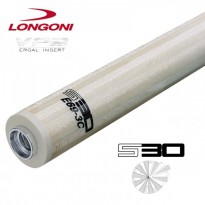 Longoni Luna Nera graphite carom shaft - Longoni S30 E69 VP2 3 Cushion Carom Shaft