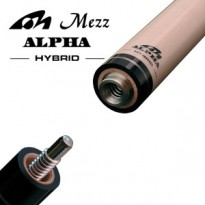 Mezz Hybrid Pro 2 shaft with Wavy joint - Mezz Hybrid Alpha Pool Cue Shaft with United Joint