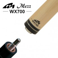 Mezz Hybrid Pro 2 shaft with Wavy joint - Mezz WX700 Pool Cue Shaft - United Joint