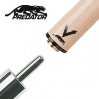 Pechauer Black Ice Uni-Loc Break Shaft - Predator Vantage Shaft for Uni-Loc Joint with Thin Black Collar