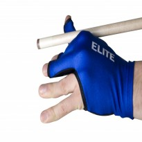 Elite Black Billiard Glove - Elite Blue Billiard Glove