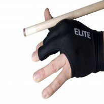 Ball Teck Silicone Grip - Elite Black Billiard Glove