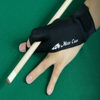 Elite Black Billiard Glove - Mezz Billiard Glove