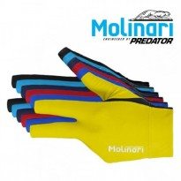 Molinari by Predator CRMSP-18A Carom Billiard Cue - Molinari Billiard Glove for left hand
