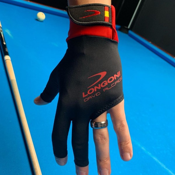 Longoni Glove Black Fire 2.0 David Alcaide for right hand