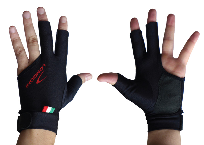 Longoni Black Fire Glove for Right Hand