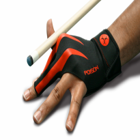 Molinari Billiard Glove for left hand - Poison Glove