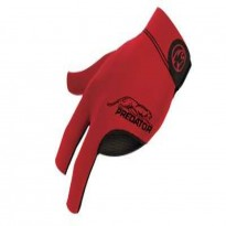 Predator Revo White Vault Plate Shaft - Predator Glove Second Skin Red