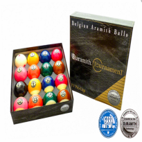 Aramith Continental -  Ball Set Pool Aramith Tournament Pro Cup, 57,2 mm