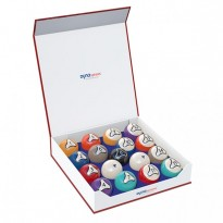 Hervorrangende Waren - DynaSpheres Pool Platinum 57,2mm Billiard Balls