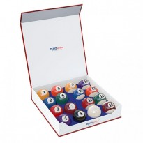 Catalogo di prodotti - DynaSpheres Pool Silver 57,2mm Billiard Balls