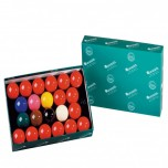Gorina Snooker Wentworth 193 - Juego de bolas Snooker Aramith Premier 52,4mm