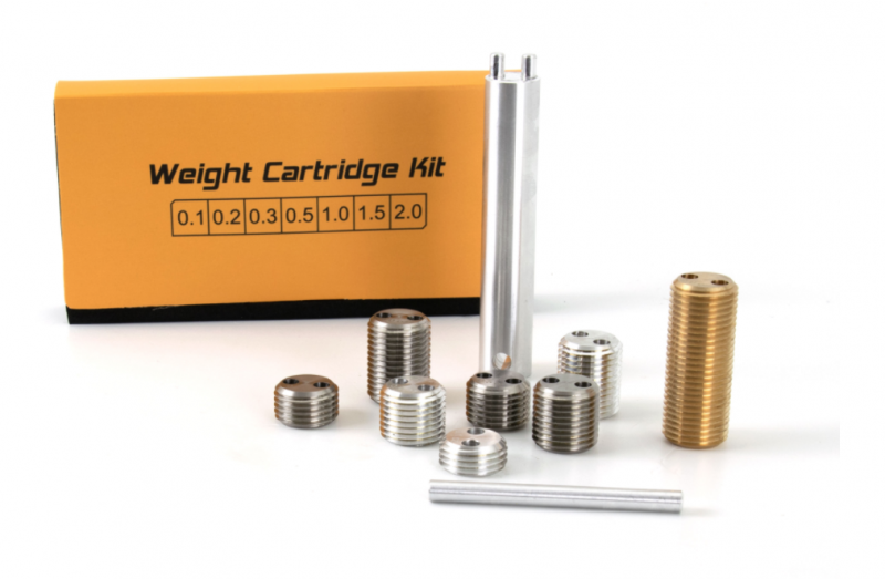Weight kit for pool cues
