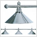 Products catalogue - 3 shades brass lamp aluminium
