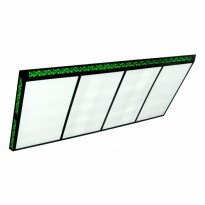 Products catalogue - Classic Flat II Green 300x120cm Billiard Lamp