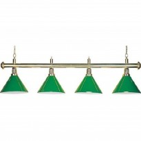 Catálogo de produtos - Billiard Lamp with 4 green shades
