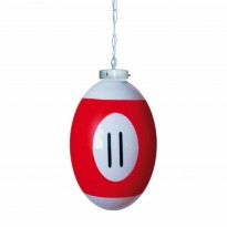 Products catalogue - Ball number 11 Billiard Lamp