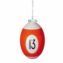 Products catalogue - Ball number 13 Billiard Lamp