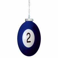 Products catalogue - Ball number 2 Billiard Lamp
