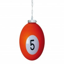 Products catalogue - Ball number 5 Billiard Lamp