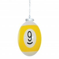 Products catalogue - Ball number 9 Billiard Lamp