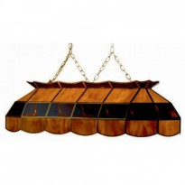 Products catalogue - Caramel Billiard Lamp 40'