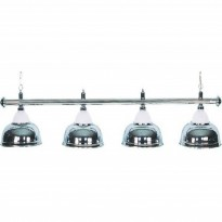Catálogo de produtos - Billiard Lamp with 4 chromed shades