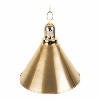 Products catalogue - 1-Shade Brass Billiard Lamp