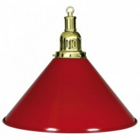 Catalogo di prodotti - 1-Shade Red Billiard Lamp
