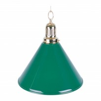 Green Shade for Billiard Lamps - 1-Shade Green Billiard Lamp