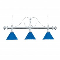 Products catalogue - 3-Shade Billiard lamp Blue Classic