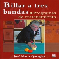 Catálogo de produtos - Book: 3 cushion billiard. Training programs