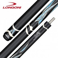 Carom cue Longoni Emme5 by Eddy Merckx - Longoni Custom Pro Sultan Leather