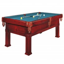 Pool Table Brunswick Goldcrown IV 9 FT Pocket - Dynamic Bern 9 ft mahogany pool table