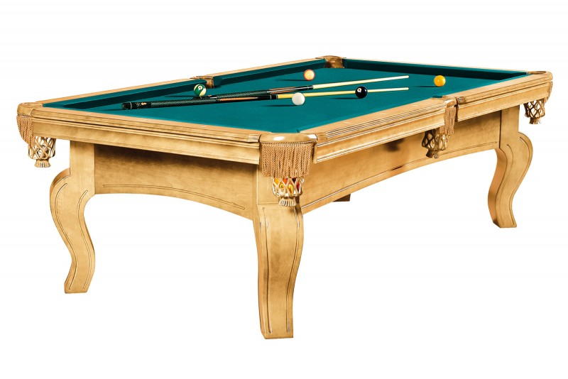 Dynamic Dynasty 8 ft oak billiard pool table