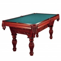 Catalogue de produits - Dynamic Empire 9 ft mahogany pool table