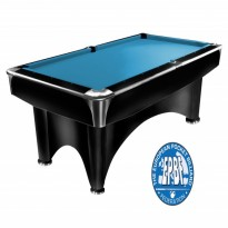 Renzline Cue Holder x 3 - Dynamic III 7 ft black pool table