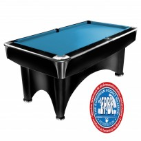 Products catalogue - Dynamic III 9 ft black pool table matt finish