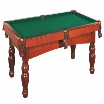 Dynamic Dynasty 8 ft oak billiard pool table - Dynamic Kiev 8 ft brown pool table