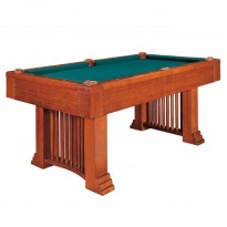 Products catalogue - Dynamic Romance 8 ft brown billiard table