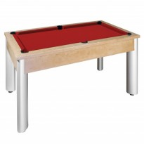 Pool table Riley Semi Pro 7ft black - Dynamic Toledo 7ft billiard table