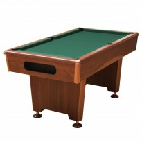 Catalogo di prodotti - Dynamic Triumph 7 ft brown billiard table